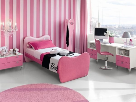 quarto feminino cores 1 s para meninas blog feminino por rafaelli antes. Black Bedroom Furniture Sets. Home Design Ideas