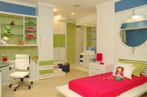 pra optar por um quarto colorido misturando suas cores preferidas e ...