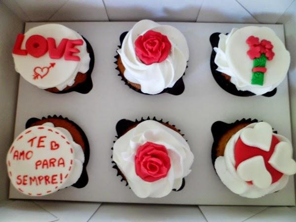cupcakes - dia dos namorados