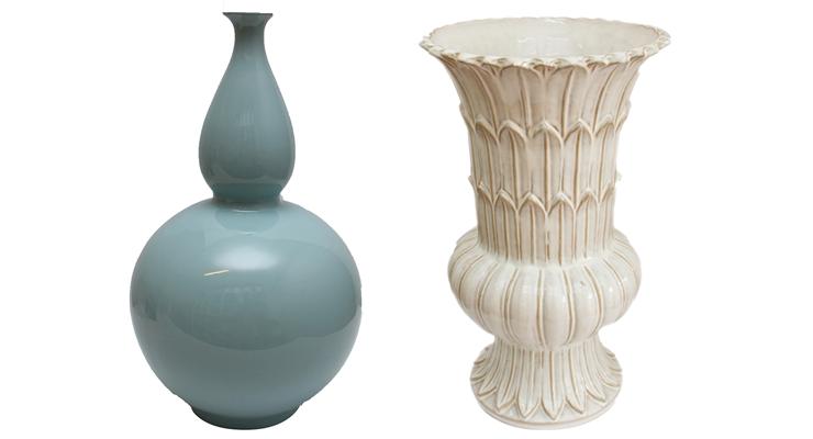 vasos na decoração