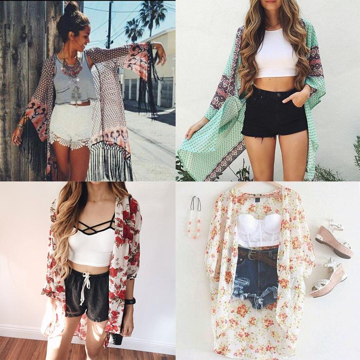 como usar kimono só para meninas