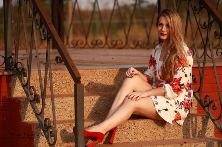 look do dia macaquinho floral blog só para meninas