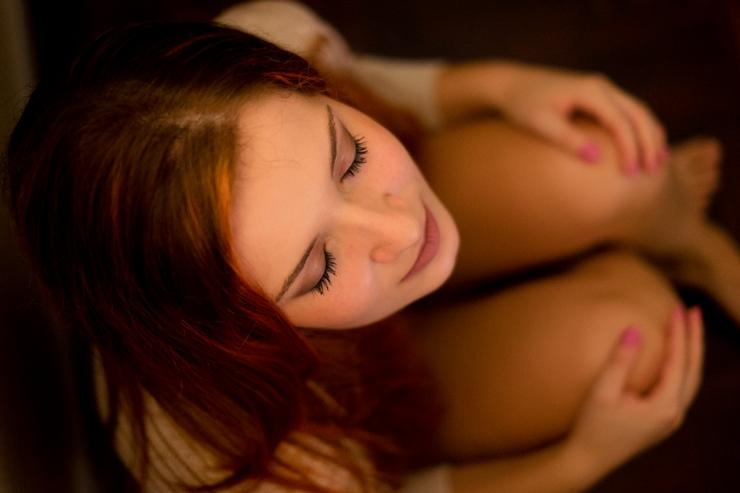 boudoir ensaio fotográfico só para meninas ruiva 6