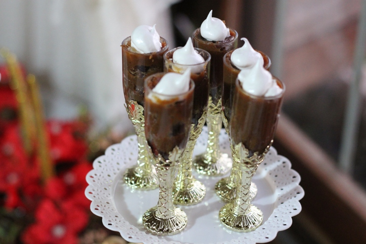 decoracao natal 2015 mesa doces