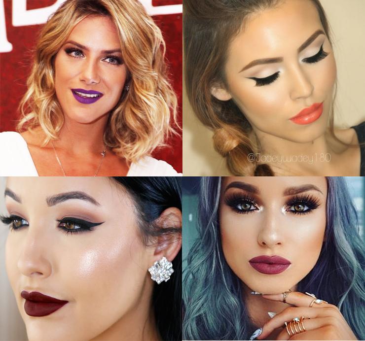 maquiagem para formatura inspirações