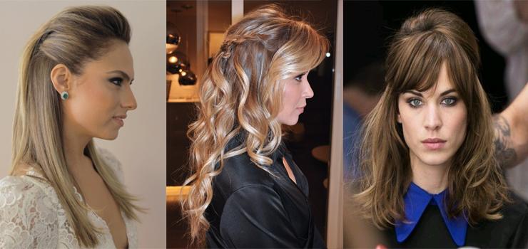 penteados para madrinha cabelo meio preso