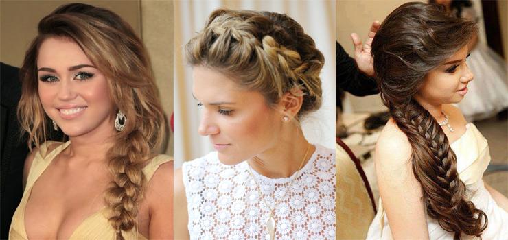penteados para madrinhas tranças so para meninas