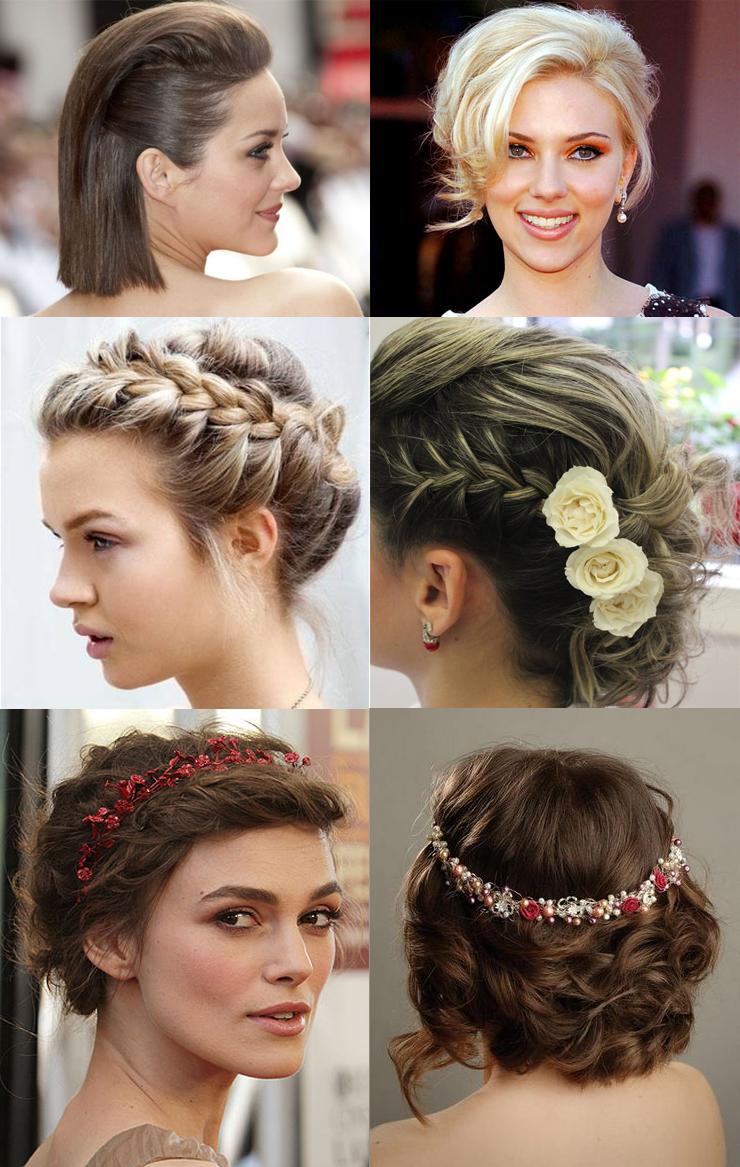 penteados para cabelo curto só para meninas