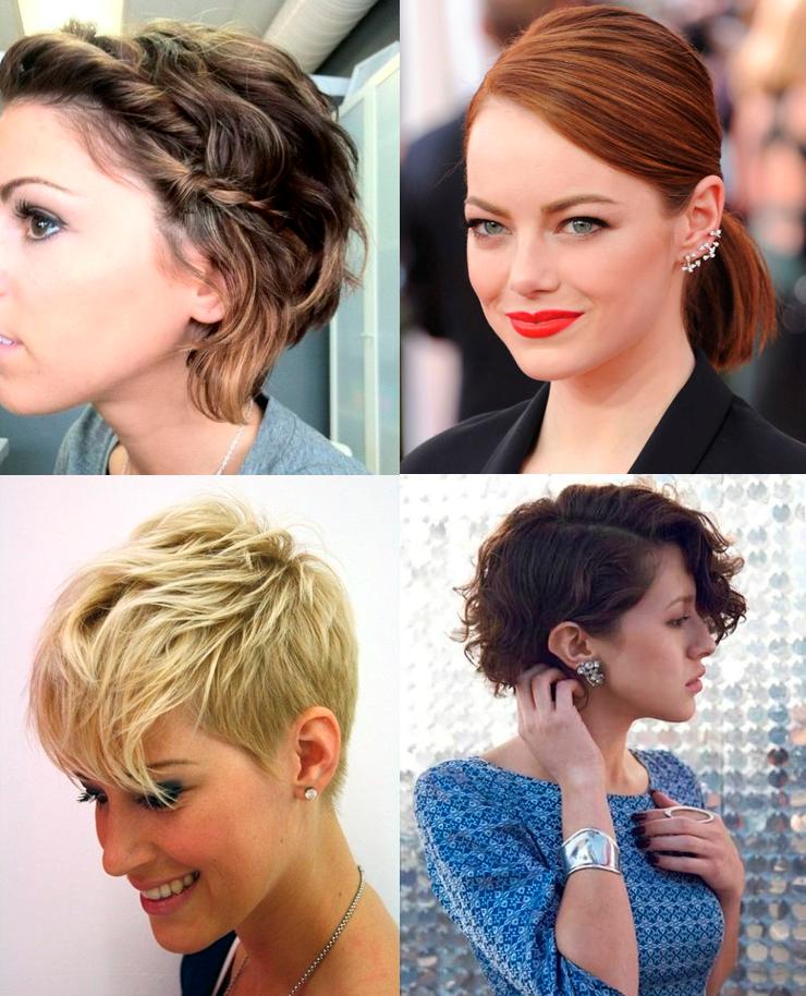 penteados para cabelos curtos inspirações