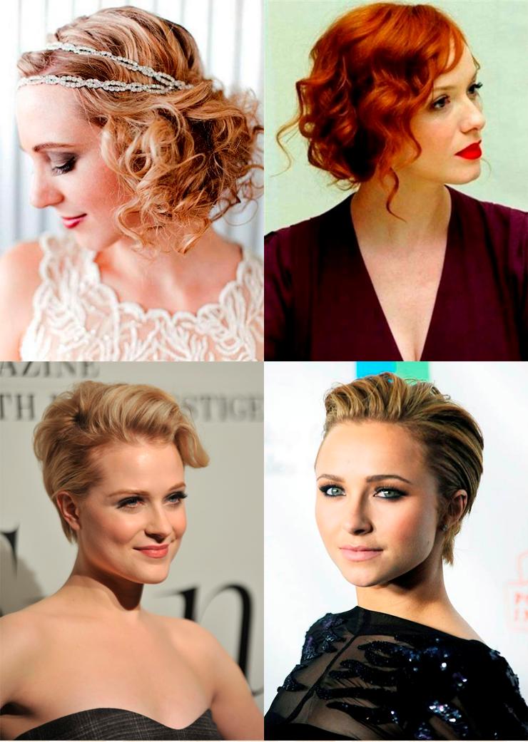 penteados para cabelos curtos só para meninas
