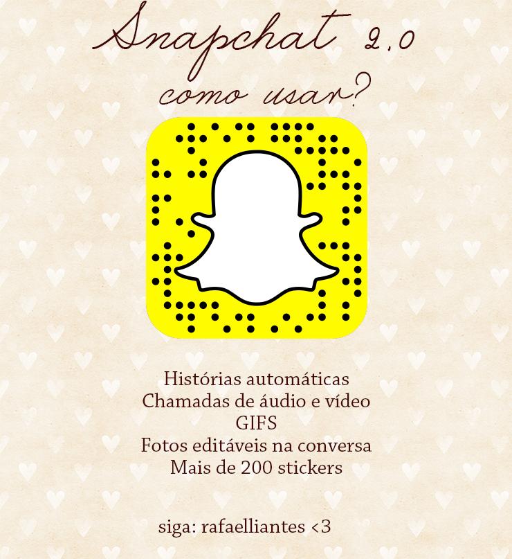 snapchat 2.0 como usar